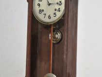 Ceas de perete cu pendul Waterbury 1874