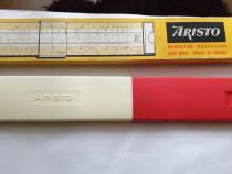 Rigla de calcul Aristo vintage