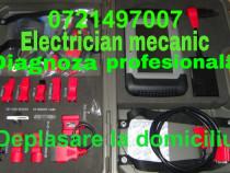 Diagnoza auto la domiciliu electrician mecanic