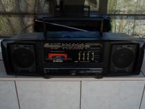 Radio JVC PC-R90 casetofon,boxe detasabile, boombox vintage