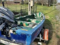 Barca lotus cu motor yamaha 15 cai
