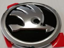 Emblema Skoda 90 mm, modelul nou