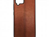 Husa Telefon Silicon Samsung Galaxy A42 5G a426 Brown Leathe