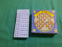 Lot 2 jocuri vechi românești: joc răbdare, perspico/ anii 19