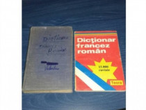 2 x Dictionar Francez-Roman 15000 cuvinte+ , diferite