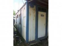 Container depozitare/birou cu structură metalică (cornier)