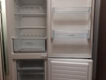 Combina frigorifica Bosch KGV36NW20, 309 L , 185cm ,Alb