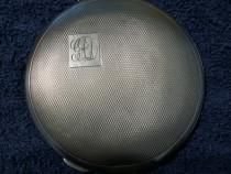 Pudriera/oglinda argint masiv 925 anglia raritate