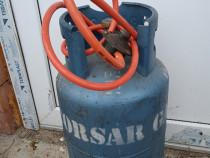 Butelie de gaz cu furtun și ceas la doar 200 de roni
