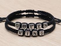 Brățări Îndrăgostiți Queen & King
