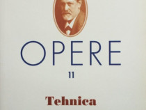 Freud opere 11 - tehnica psihanalizei