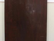 Cuier Vintage de perete cu agatatori; Cuier din lemn masiv