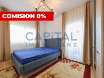 Apartament cu 2 camere, terasa, parcare, cartier Marasti