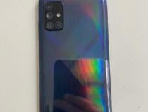 Samsung Galaxy A71,Dual SIM,128GB,6GB RAM,4G,Black
