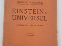Carte veche einstein si universul charles nordmann