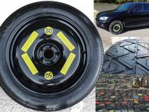 Roata rezerva Slim Audi Q5 2008 – 2016 marimi: R 17 18 19