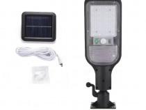 Lampa solara stradala, Panou solar, Pentru externa c549