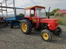 Tractor Fiat 640 cu remorca basculare