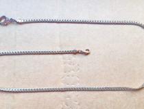 C625-Lant ceas buzunar vechi bronz aurit. Lungime 62 cm.