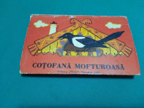 COȚOFANA MOFTUROASĂ/ CARTE POP-UP/ 1993