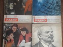 Lot 11 reviste vintage RADIO in limba rusa / C rev P2