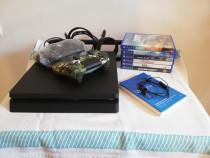 PlayStation 4 Slim 1TB (2 Controllere + 6 Jocuri)