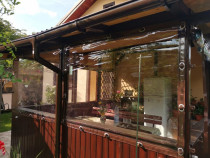 Închideri terase cu folie transparenta