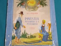 Povestea pescarului și a peștișorului / a.s pușchin/ 1954
