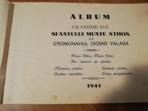 Album cu vederi ale sfantului munte Athos
