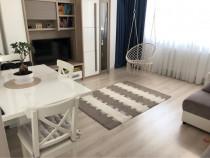 Apartament 2 camere complet mobilat si utilat Central