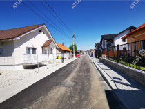 Casa individuala cu 4 camere si 700 mp teren langa Sibiu
