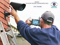Instalare/Montaj sistem supraveghere, camere video