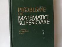Probleme de matematici superioare, I.L. Popescu, 1964