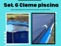 Set Cleme piscina INTEX pentru fixarea prelatei