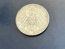 Moneda argint 1912 Otto von Bayern