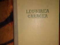 Legiuirea Caragea editie critica