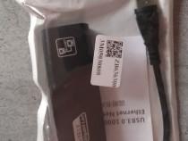 Adaptor Placa Retea USB 3.0, internet 10/100/1000M, Gigabit,
