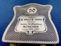 C933-I-Clema veche Carte marca M. RAST & Sohn Munchen gravat