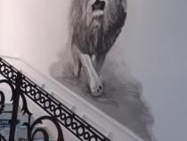 Desene pe pereti,interior si exterior,preturi negociabile
