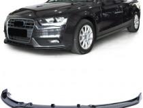 Lip negru lucios Audi A4 B8 8K (11-15) Facelift