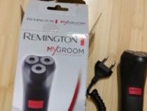 Aparat de ras Remington MyGroom, 3 capete (Negru)