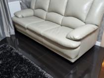 Canapea extensibila, Mobexpert din piele naturala