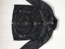 Jachete piele naturală Armani geans