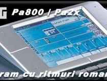 Programe cu ritmuri si tonuri pentru orgi electronice