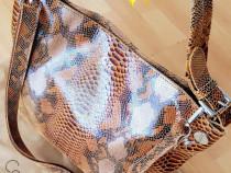 Geanta Calvin Klein piele naturală 100% ,Italia