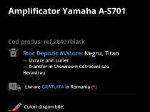 Amplificator Yamaha A-S701 + Boxe Vlliodor