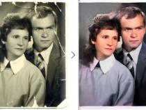 Prelucrare/restaurare/editare fotografii vechi - colorizare