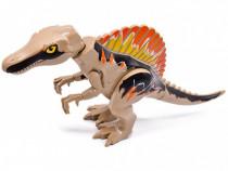 Dinozaur urias tip Lego de 30 cm: Spinosaurus