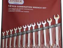 Set chei combinate, dimensiuni de la 10-mm la 22-mm, 12 buc