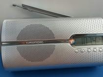 Radio Grundig cu ceas
